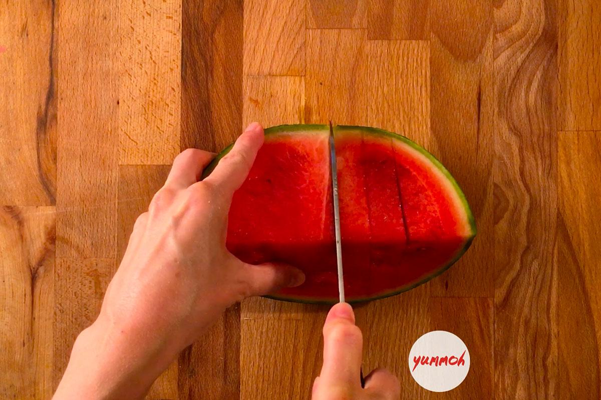 Watermelon Coconut Milk Shake Recipe Step 3