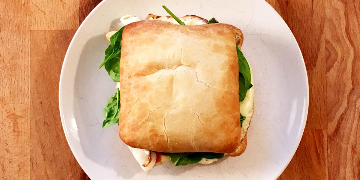 Ciabatta Yogurt Breakfast Sandwich