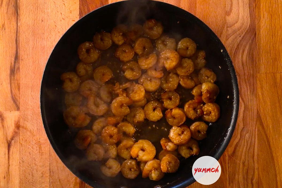 Honey Lime Shrimp Recipe Step 3